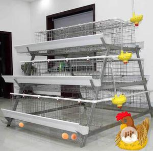 China Factory Battery Cage Poultry Battery Cages Best Quality Cages | Farm Machinery & Equipment for sale in Lagos State