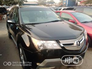 Acura MDX 2008 SUV 4dr AWD (3.7 6cyl 5A) Black   Cars for sale in Lagos State, Apapa