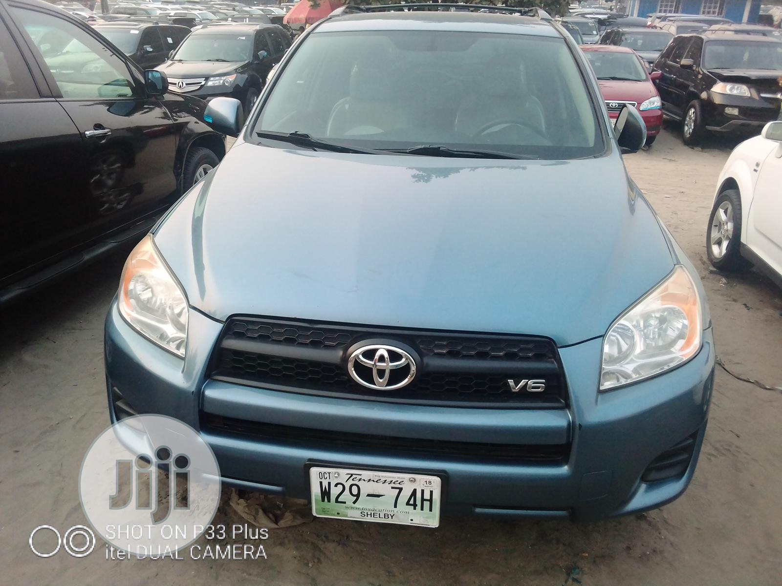 Toyota RAV4 2010 2.5 Limited 4x4 Blue   Cars for sale in Apapa, Lagos State, Nigeria