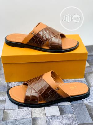 Louis Vuitton Pam Slippers Available Swipe to Pick Yours Preferred | Shoes for sale in Lagos State, Lagos Island (Eko)