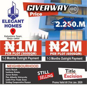 Plots of Land at ELEGANT HOMES Kaiyetoro Town Lbeju-Lekki   Land & Plots For Sale for sale in Lagos State, Ibeju