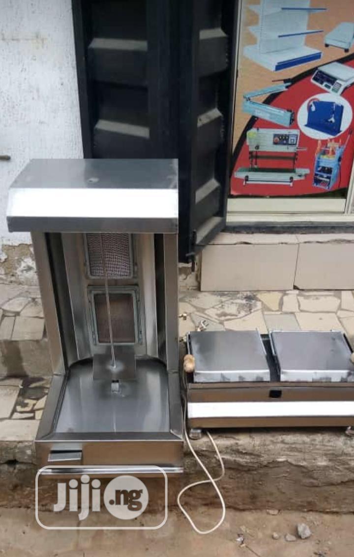 Shawarma Machine And Toaster Grill
