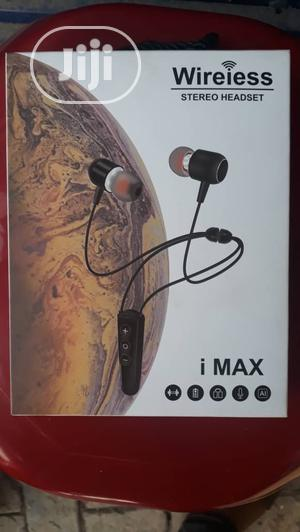 I Max Wireless Stereo Headset. | Headphones for sale in Lagos State, Ikeja