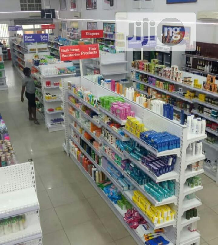 Supermarket Shelves   Store Equipment for sale in Lagos State, Nigeria