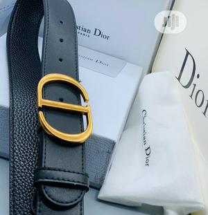 Christian Dior (CD) Leather Belt for Men's | Clothing Accessories for sale in Lagos State, Lagos Island (Eko)