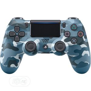 Sony Dualshock Wireless Controller For Playstation 4 - BLUE Camo | Accessories & Supplies for Electronics for sale in Lagos State, Ikeja
