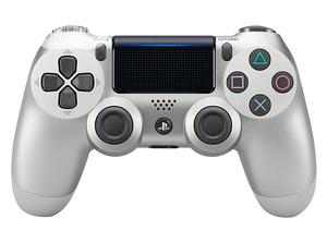 Sony Dualshock 4 Wireless Controller For Playstation 4 - Silver   Accessories & Supplies for Electronics for sale in Lagos State, Ikeja