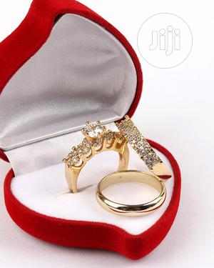 Classy Gold Wedding Ring Set | Wedding Wear & Accessories for sale in Lagos State