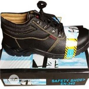 Armstrong Men's Safety Boot Shoes - Black   Shoes for sale in Lagos State, Ajah