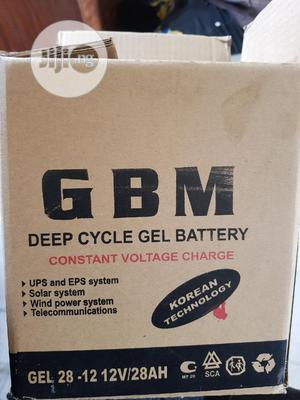 28A 12v GBM Battery | Solar Energy for sale in Lagos State, Ojo