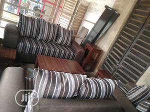 Complete Setee Sofa Center Table Side Stools   Furniture for sale in Lagos State, Shomolu