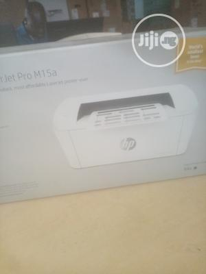 Hp Laser Jet Pro M15a Black And White Printer   Printers & Scanners for sale in Lagos State, Ikeja