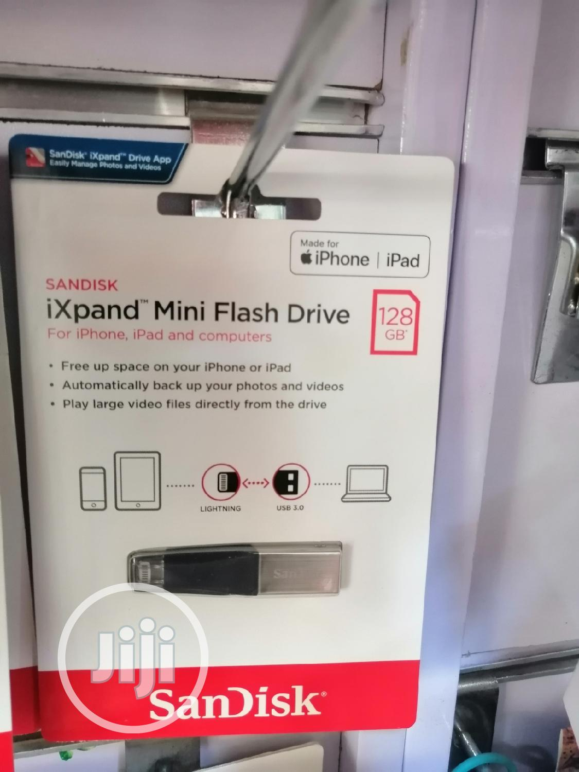 128gb Ixpand Mini OTG Flash Drive For Laptop & Ios Devices
