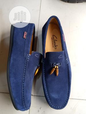 Quality Clarks Suede Loafers Men Shoe | Shoes for sale in Lagos State, Lagos Island (Eko)