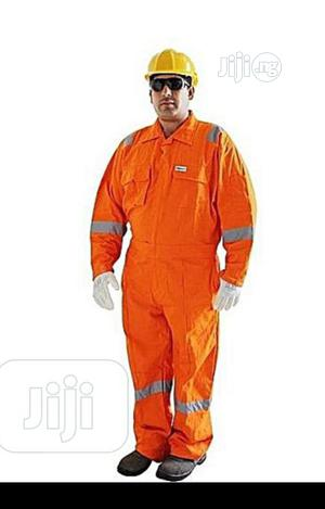 Orange Reflective Coverall   Safetywear & Equipment for sale in Lagos State, Lagos Island (Eko)