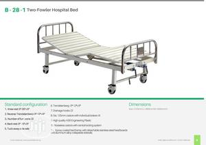 B-28-1 Two-fowler Hospital Bed With Stainless Steel Head/Foot Board   Medical Supplies & Equipment for sale in Lagos State, Ikeja