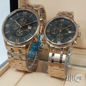 Tissot 1853 Chronograph Gold Couples Watch   Watches for sale in Lagos State, Oshodi