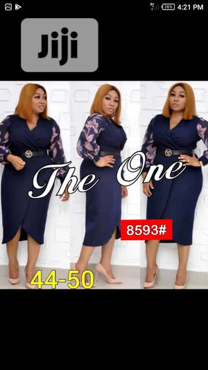 Ladies Long Sleeve Wrap Dress   Clothing for sale in Lagos State, Ikeja