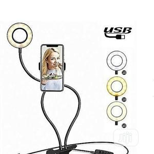 Selfie Stick With Ringlight   Accessories for Mobile Phones & Tablets for sale in Lagos State, Ikeja