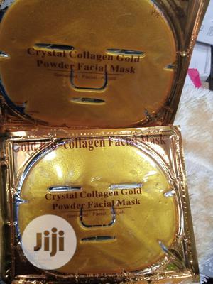 Gold Bio Collagen Facial Mask | Skin Care for sale in Lagos State, Amuwo-Odofin