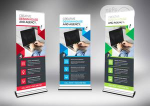 Strong Rollup Banner Stand   Printing Equipment for sale in Lagos State, Lagos Island (Eko)