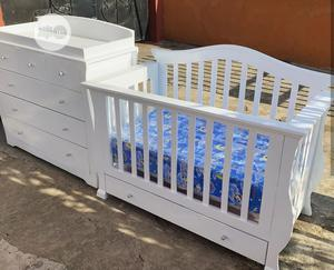 Exquisite Baby Crib And A Dresser | Children's Furniture for sale in Lagos State, Ikeja