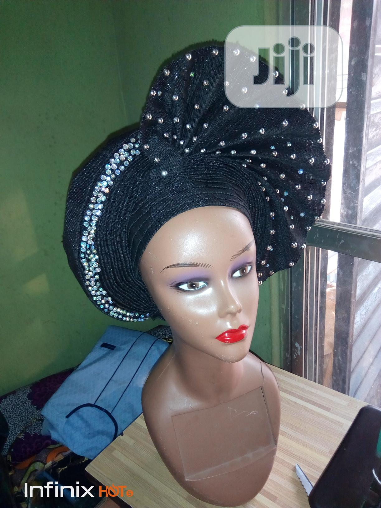 Latest Gele For The Bride