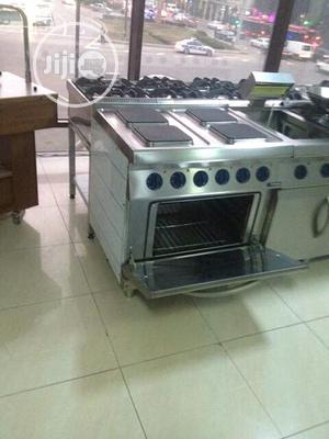 4 Burners Electric Cooker With Oven | Restaurant & Catering Equipment for sale in Lagos State, Ojo