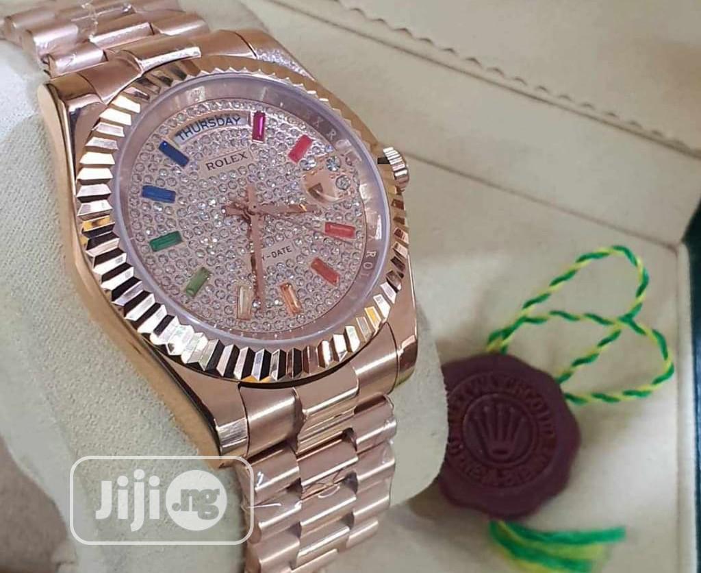 Luxury Rolex Designer Time Piece | Watches for sale in Magodo, Lagos State, Nigeria