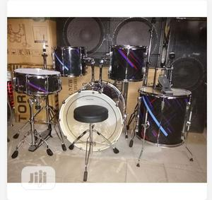 5 Set Powersonic Locks Drum Set   Musical Instruments & Gear for sale in Abuja (FCT) State, Central Business District