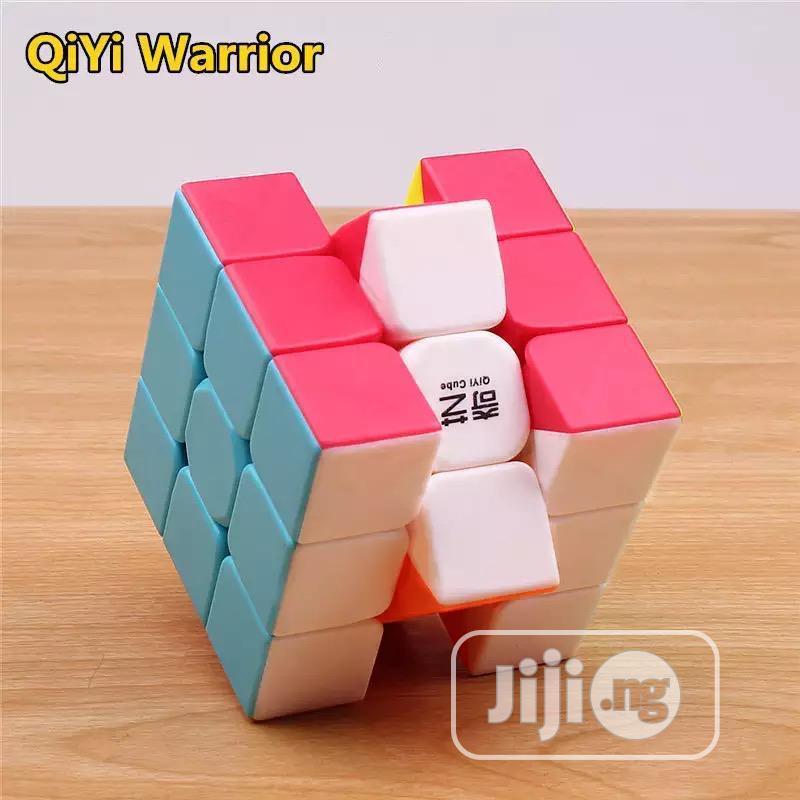 Qiyi Rubik Cube Stickerless Professional 3x3x3 Toy | Toys for sale in Ikeja, Lagos State, Nigeria