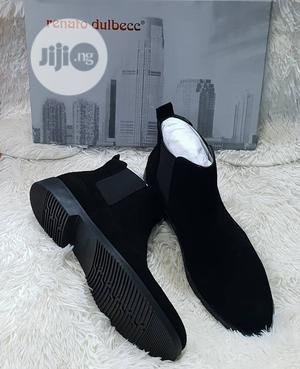 Renato Italian Ankle Boot Shoe (Brown And Black)   Shoes for sale in Lagos State, Lagos Island (Eko)