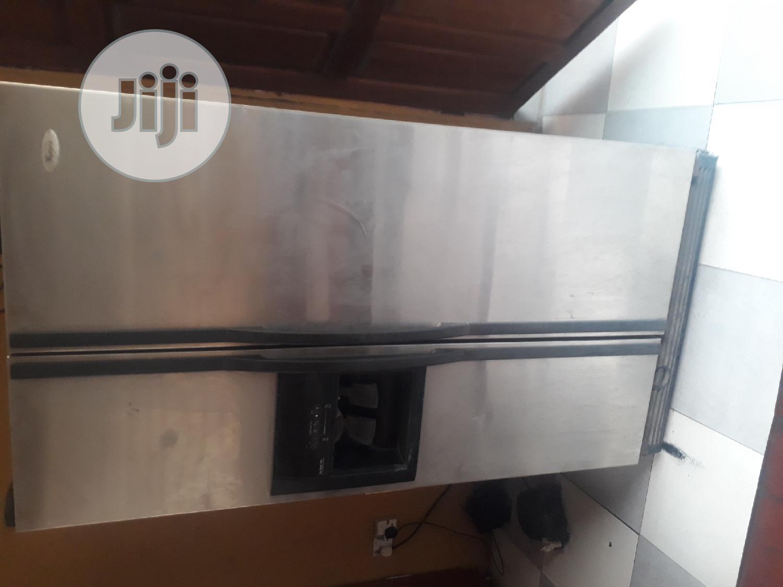 Archive: Whirlpool American Style Double Door Refridgerator With Ice Maker