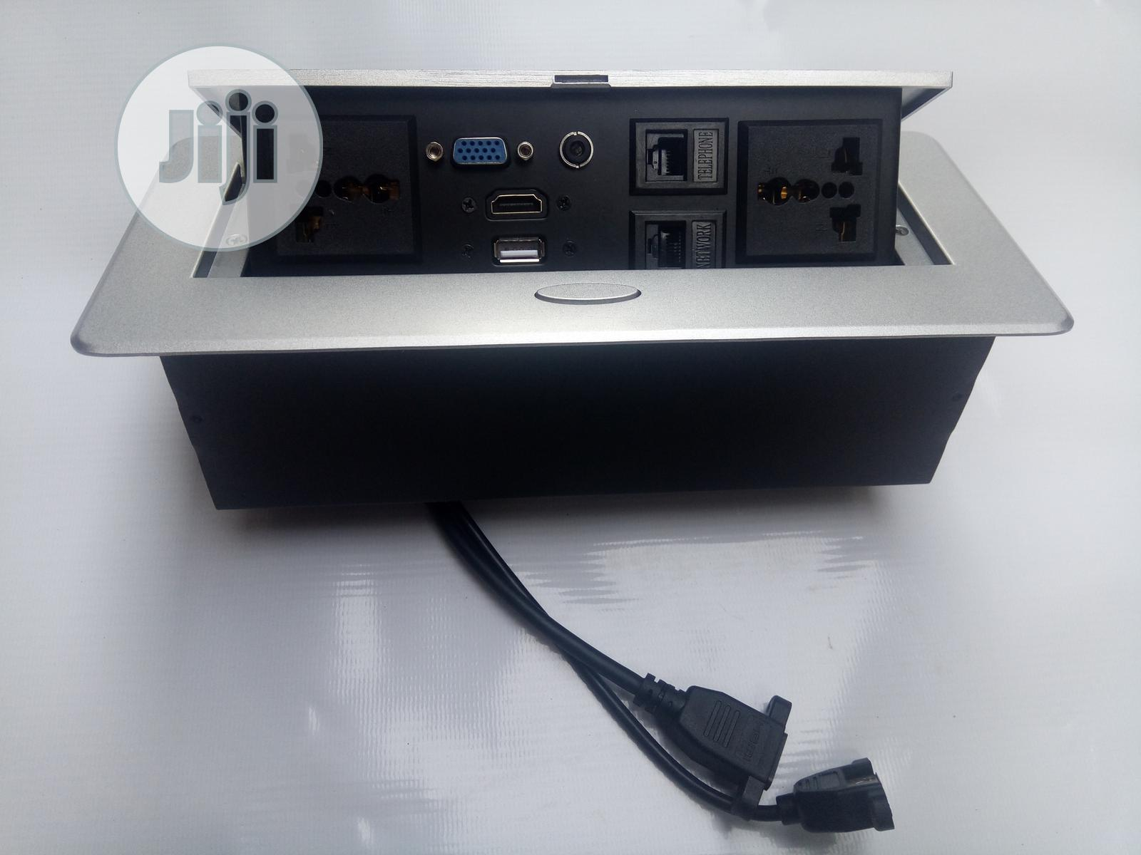 Table and Wall Mounted Cable Management Box | Accessories & Supplies for Electronics for sale in Surulere, Lagos State, Nigeria