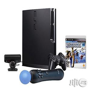 Sony Ps3 320gb With Playstation Move,Sport Champion Bundle. | Video Game Consoles for sale in Lagos State, Amuwo-Odofin