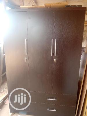 Black Wardrobe 4ft By6   Furniture for sale in Lagos State, Ikeja