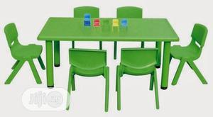 Nursery School Furniture Kids Plastic Table Is Now Available   Children's Furniture for sale in Lagos State, Ikeja