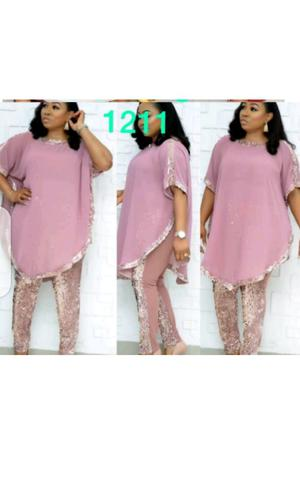 Ladies Chiffon Bubu Top and Trouser | Clothing for sale in Lagos State, Ikeja
