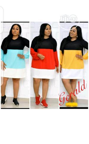 Ladies Long Sleeve Rainbow Dress   Clothing for sale in Lagos State, Ikeja