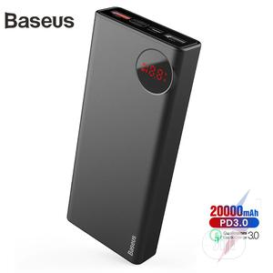 Baseus 20000mah Power Bank PD3.0 Quick Charger Outdoor   Accessories for Mobile Phones & Tablets for sale in Lagos State, Ikeja