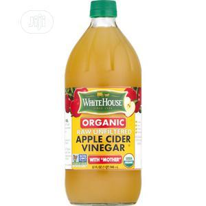 White House Organic Apple Cider Vinegar (946ml)   Meals & Drinks for sale in Lagos State, Ikeja