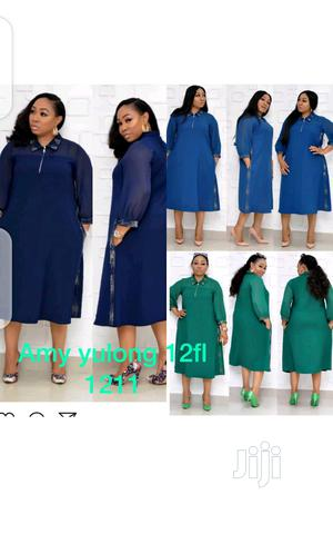 Ladies Chiffon Long Sleeve Dress   Clothing for sale in Lagos State, Ikeja