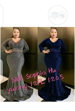 Ladies Fitted Long Sleeve Dinner Dress   Clothing for sale in Lagos State, Ikeja