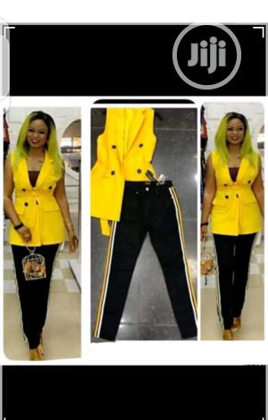 Ladies Sleeveless Blazer Jacket and Trouser | Clothing for sale in Lagos State, Ikeja