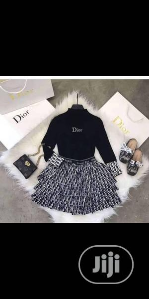 Ladies Long Sleeve Short Dior Dress   Clothing for sale in Lagos State, Ikeja