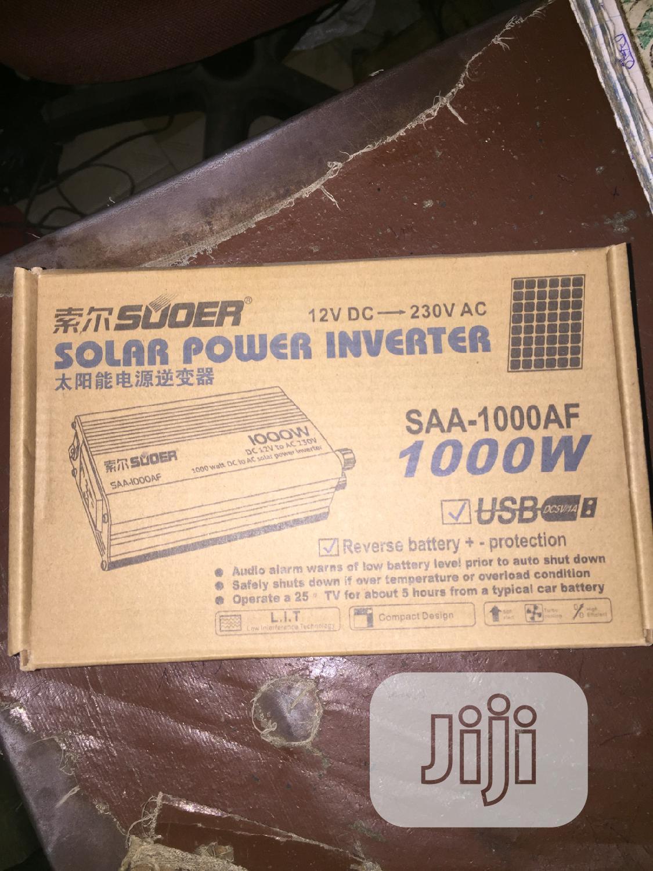 Archive: 1000watts 12v DC INVERTER
