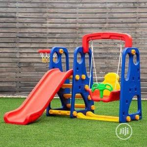 Playground Set With Swing, Slide and Basketball Hoop | Toys for sale in Lagos State, Ikeja