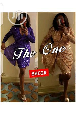 Ladies Shinny Short Dinner Dress | Clothing for sale in Lagos State, Ikeja