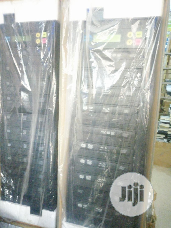 LG 1-10 DVD/CD Duplicator With Re-writer
