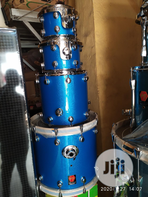 Original Virgin Climax Uk 5pcs Drum Set | Musical Instruments & Gear for sale in Ojo, Lagos State, Nigeria